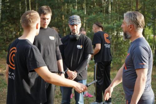 Seminarium plenerowe obrona przed szantażem nożem i krótką bronia palną 01 08 2020 07