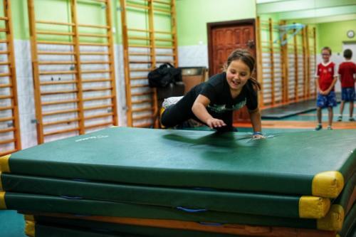 Treningi dla dzieci w klubie Krav Maga Center 08