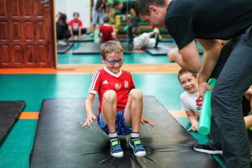 Treningi dla dzieci w klubie Krav Maga Center 09