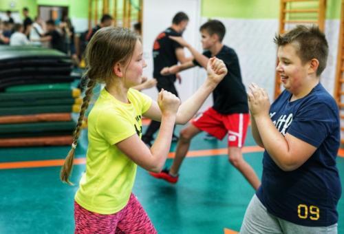 Krav Maga Center Warszawa treningi dla mlodziezy 010