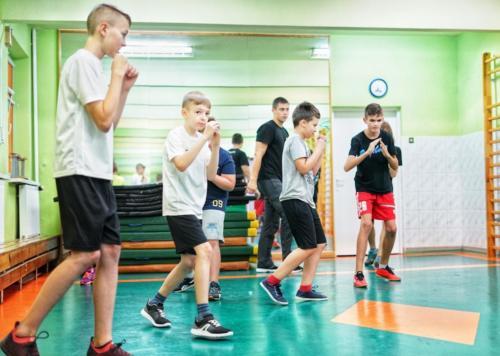 Krav Maga Center Warszawa treningi dla mlodziezy 09