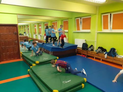 Treningi dla dzieci w klubie Krav Maga Center 01