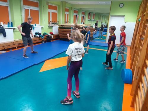 Treningi dla dzieci w klubie Krav Maga Center 05