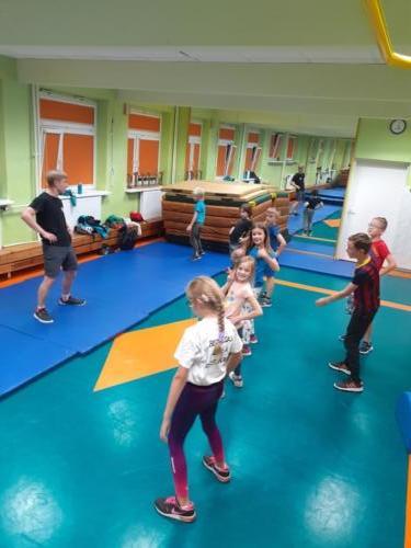 Treningi dla dzieci w klubie Krav Maga Center 06