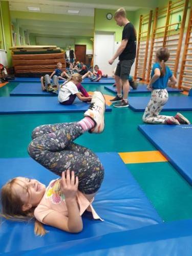 Treningi dla dzieci w klubie Krav Maga Center 07